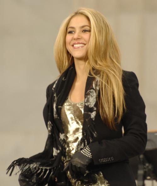 Shakira at Obama Inaugural